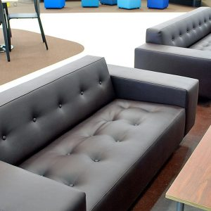 Sofa with Buttons