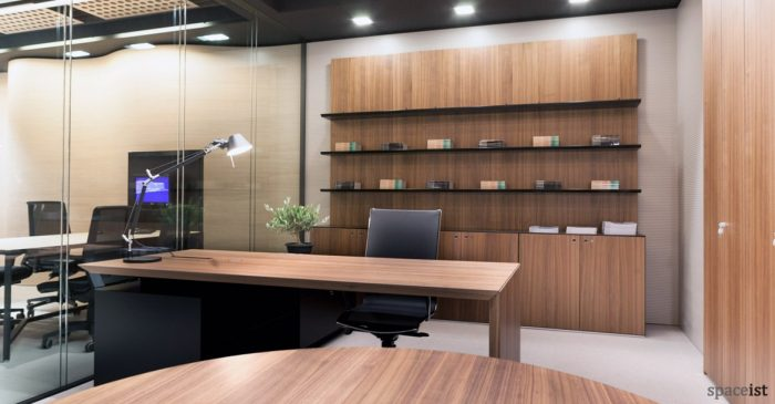 CEO walnut exective furniture range