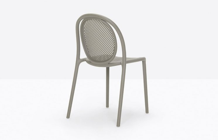Cafe Chair Mesh Back