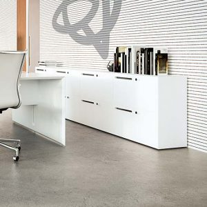 Can modern office storage be stylish and functional?
