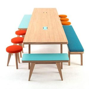 Can my canteen tables be both durable and great looking?