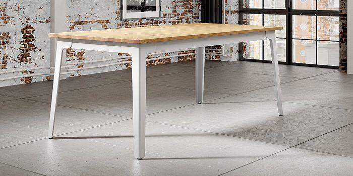 Canteen Table Oak Top