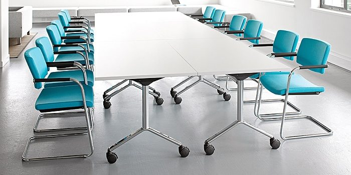 Cantilever Meeting Chairs