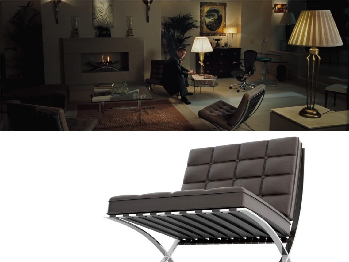 Casino Royale james bond Barcalona chair