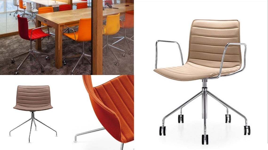Catifa workplace meeting room chair star base castors spaceist blog
