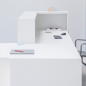 Clinic White Desk