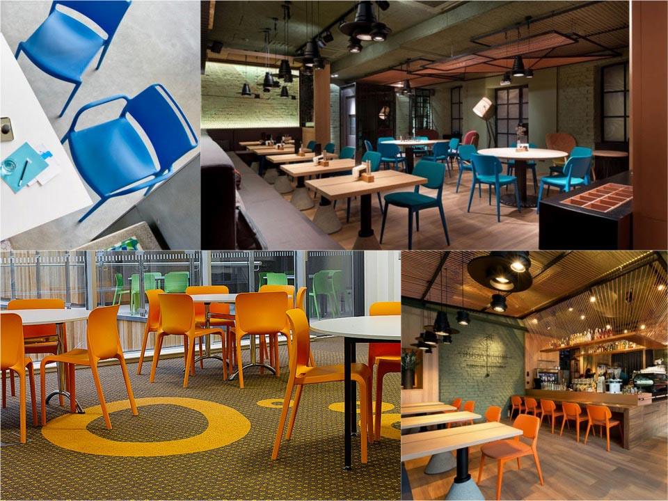 Colour DogAteDove restaurant Kiev Spaceist inspiration