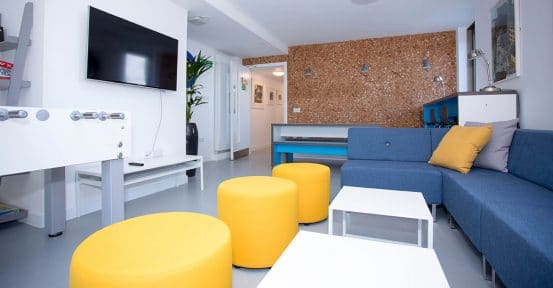 Common room sofa