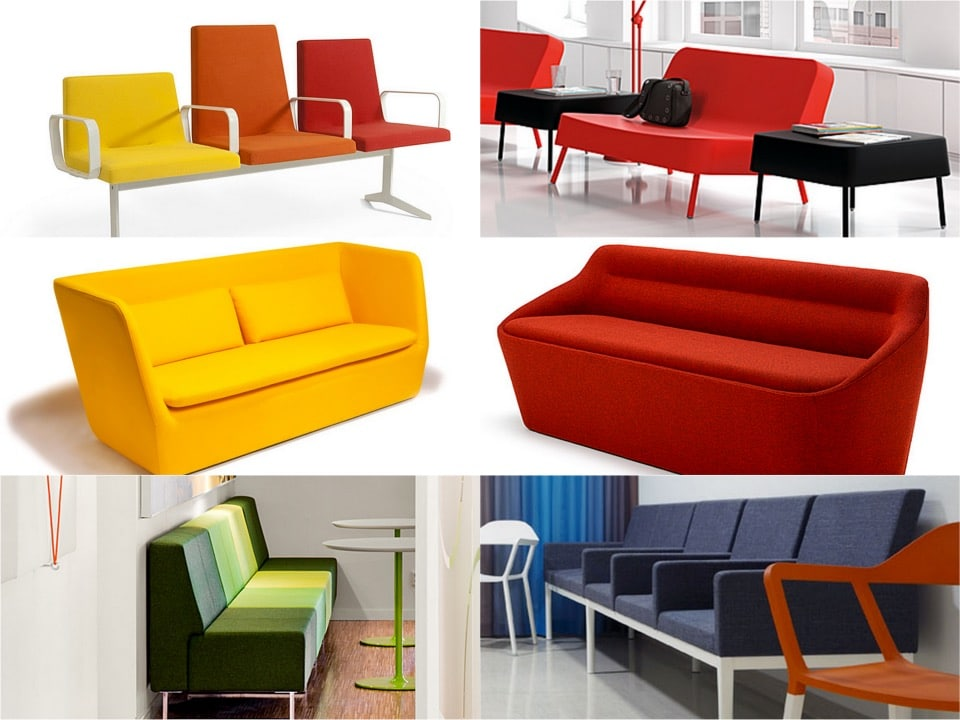 Compact reception sofa seating spaceist