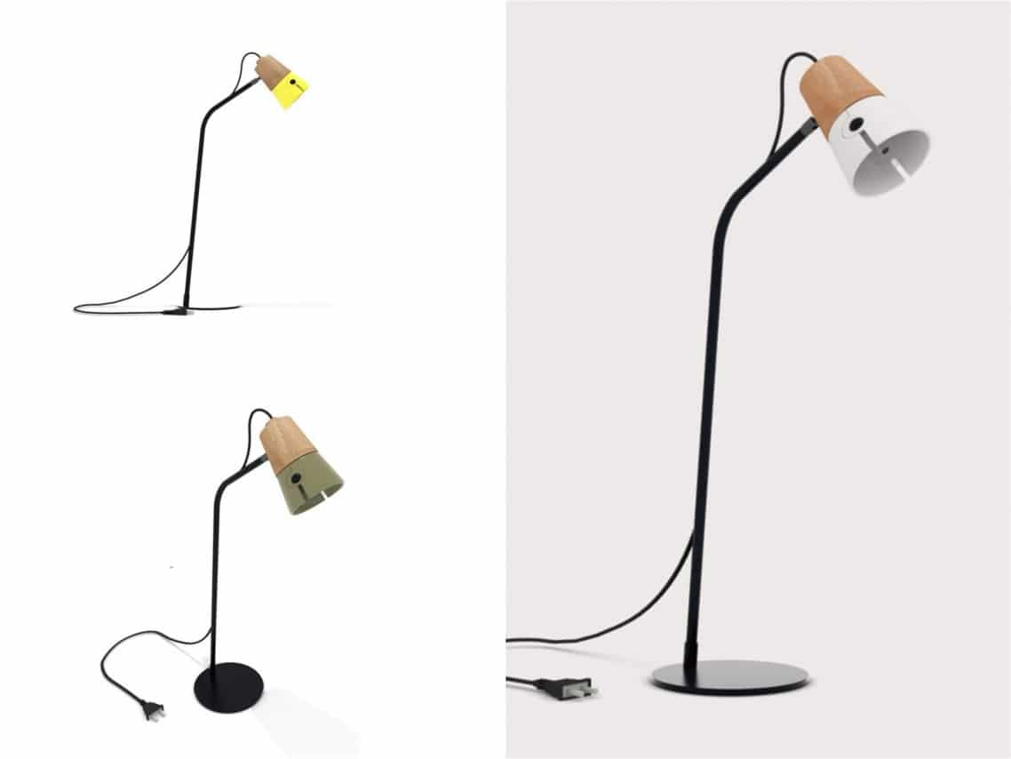 Cone Desk Lamp by UP salone milan Spaceist blogpost