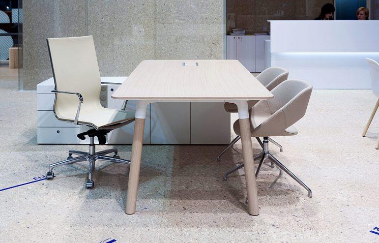 Desk Return in White