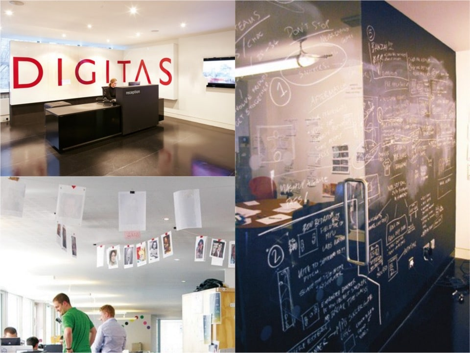 Digitas HQ blackboard