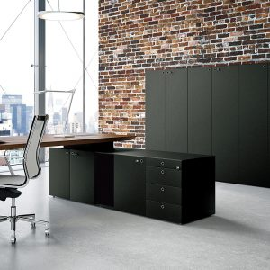 Do your desks come with matching chairs and storage furniture?