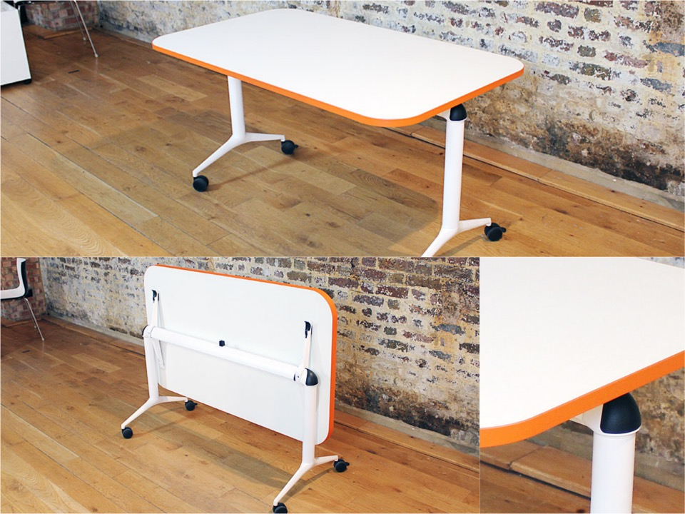 Edge folding table Spaceist blogpost