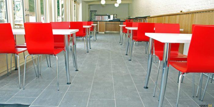 English Heritage cafe furniture
