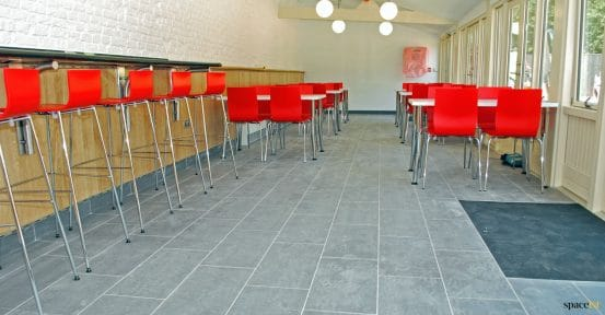 Red Cafe Stools