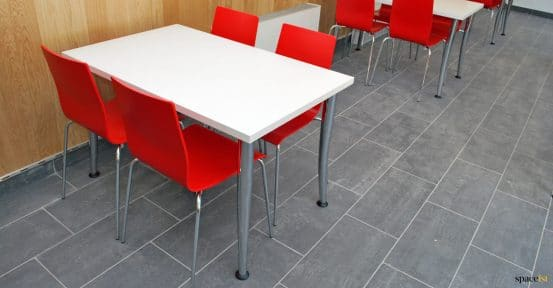 Four person cafe table