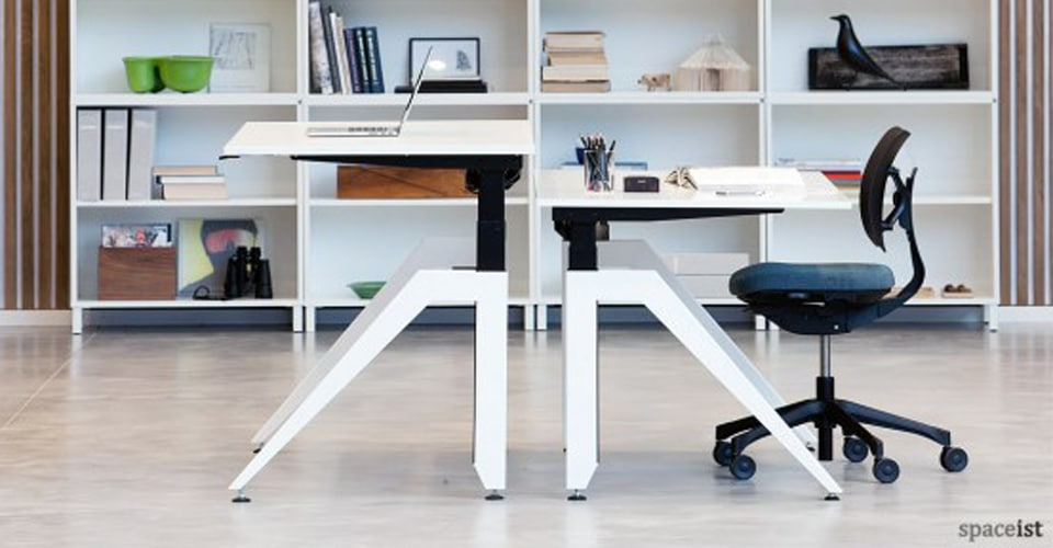 cabale white standing desk web