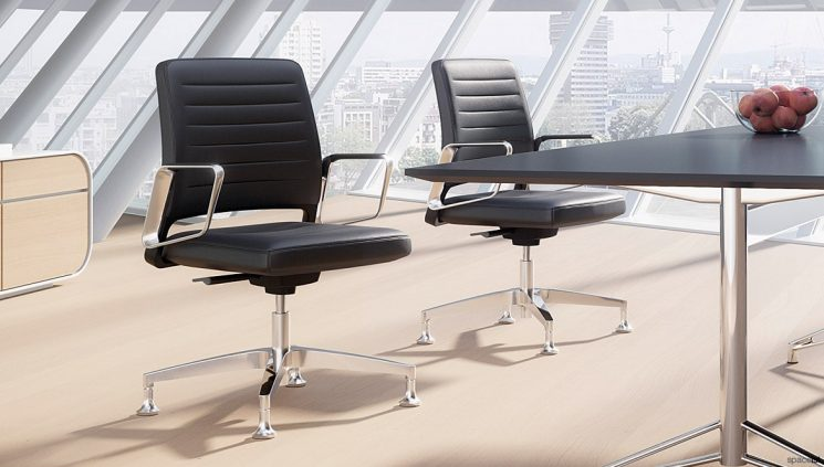 Leather Meeting Chairs