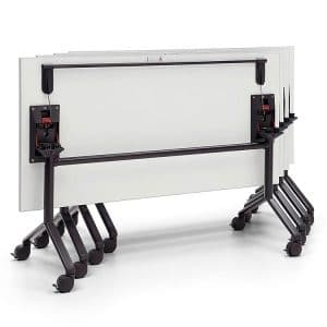 Folding and stacking table
