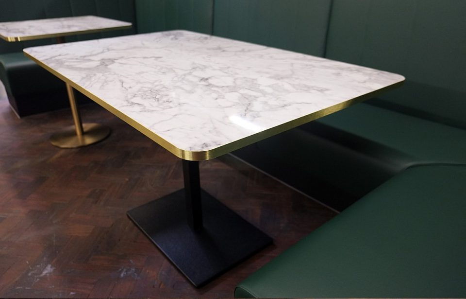 Brass Four Person Table