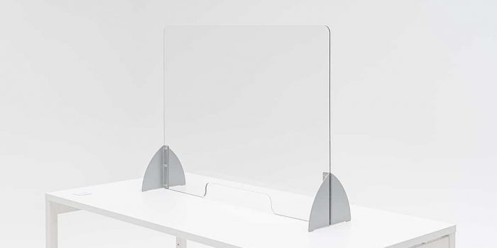 Free Standing Desk Protection Screen