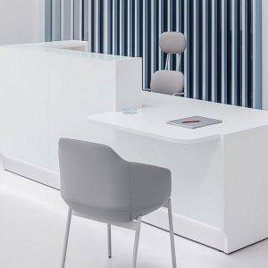 Glass Clinic Counter