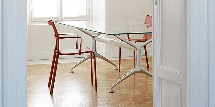 Glass Meeting Tables