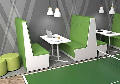 Green Booth Sofa