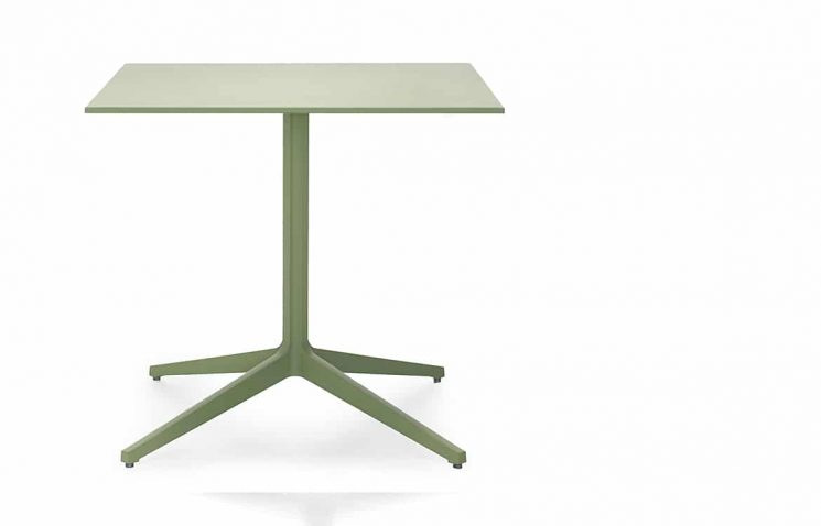 Green Cafe Table