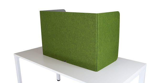 Green Folding-Desk-Screen