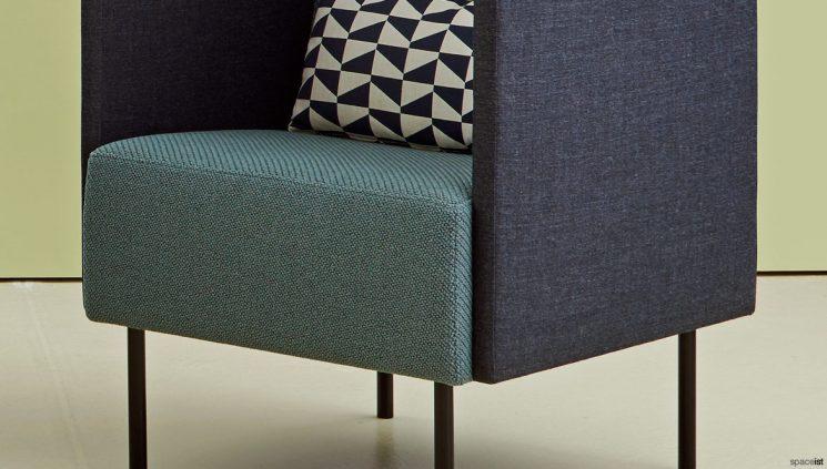 High Back Chair Closeup