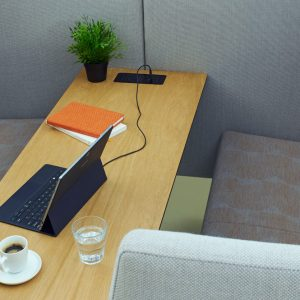 High Back Meeting Booth
