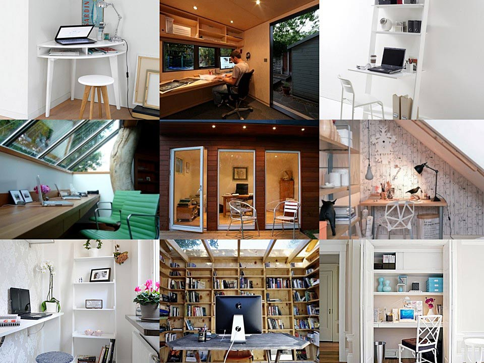 Home office spaces ideas