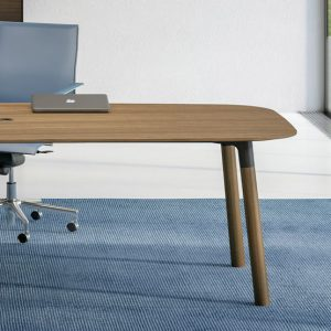 How can office furniture improve employee wellbeing?