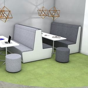 How should I plan an accessible breakout space?