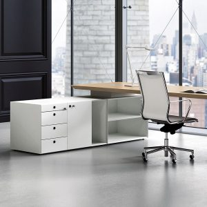 I'm short of space - can I incorporate storage into my desk?