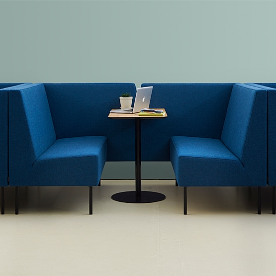 Is booth seating multi-functional?