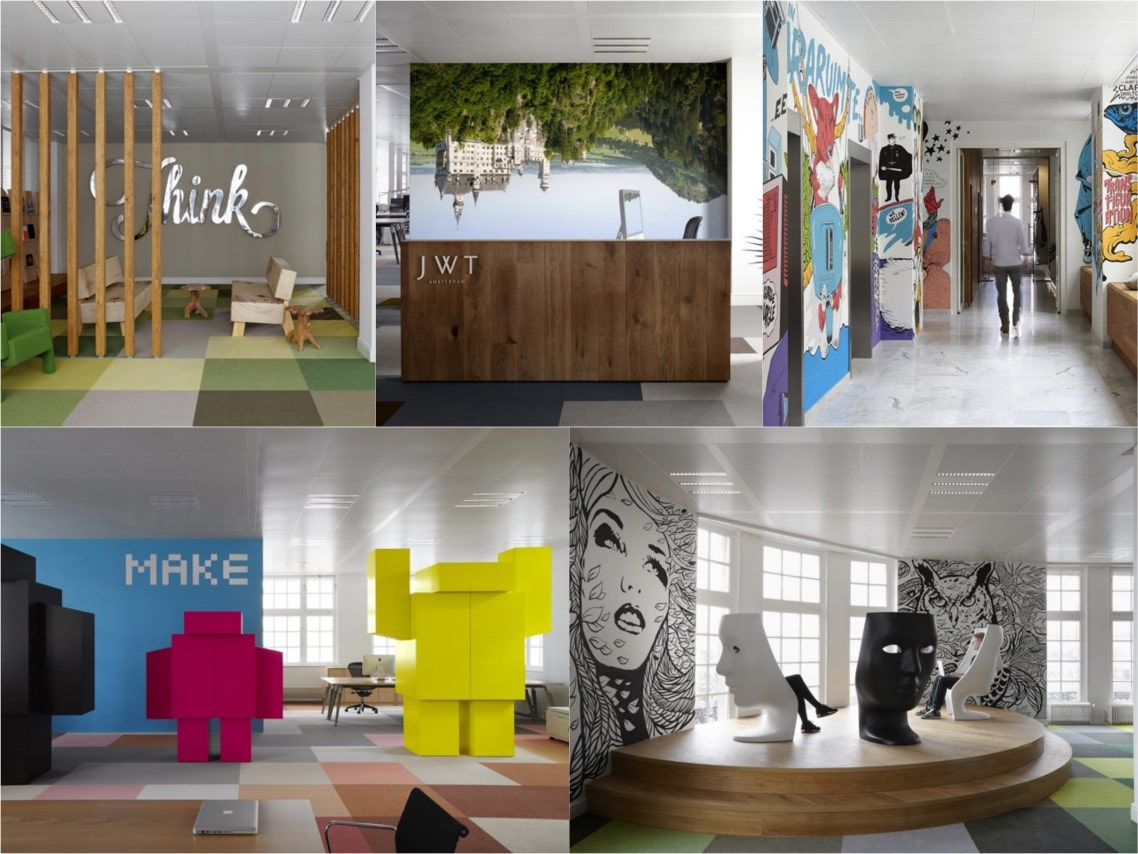 JWT office abstract design office spaceist blogpost