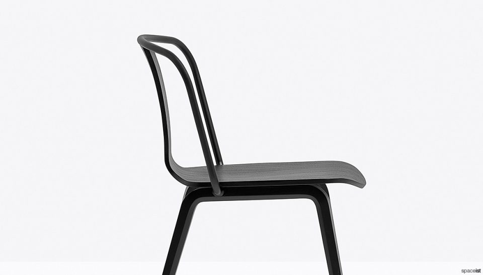 Black Cafe Chair