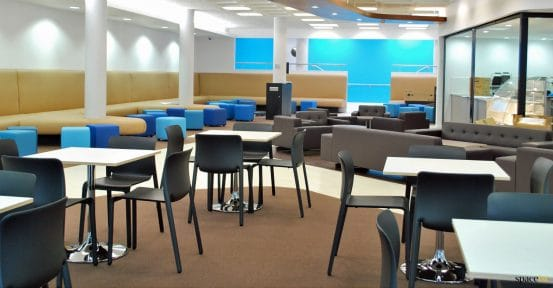 canteen area seating