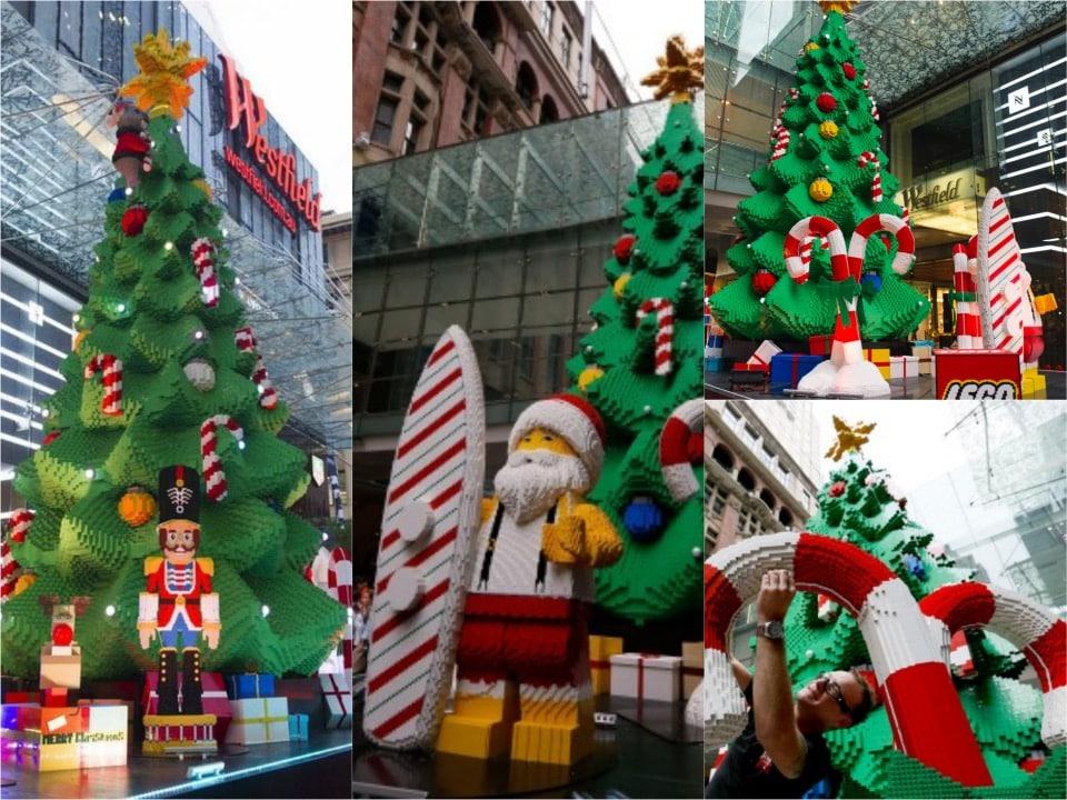 LEGO Christmas Tree at Sydney