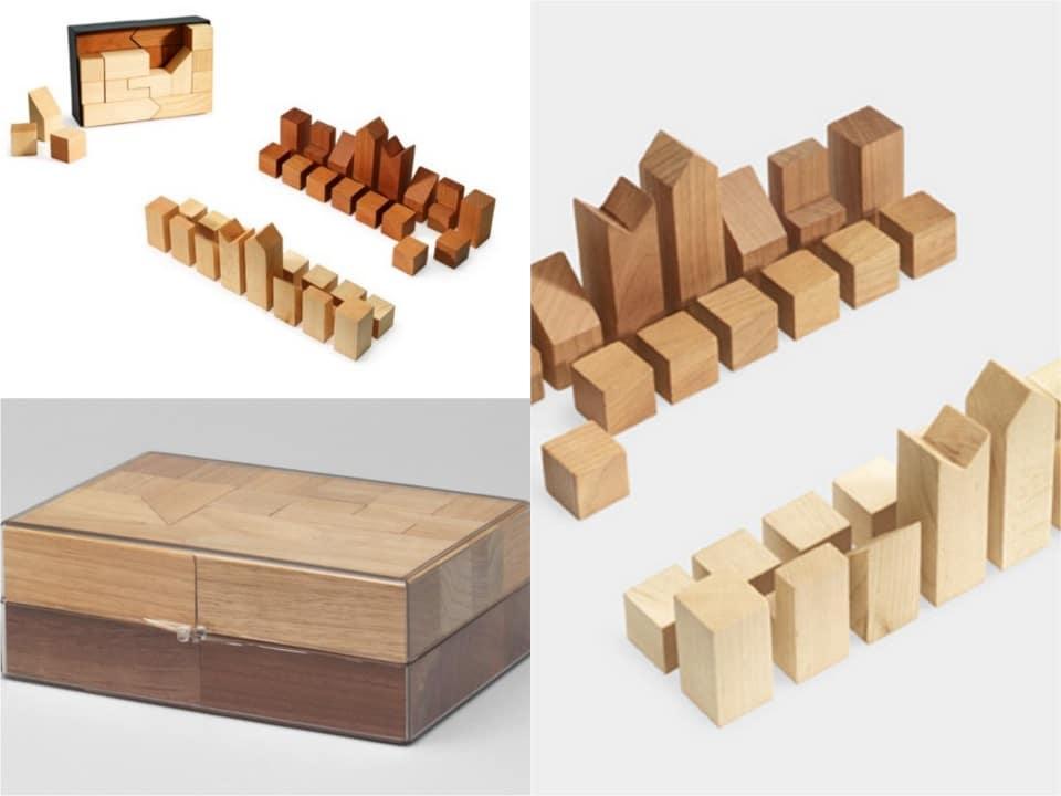 Lanier Graham wooden chess set