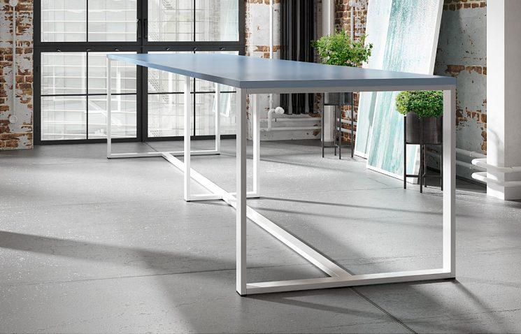 Long Canteen Table