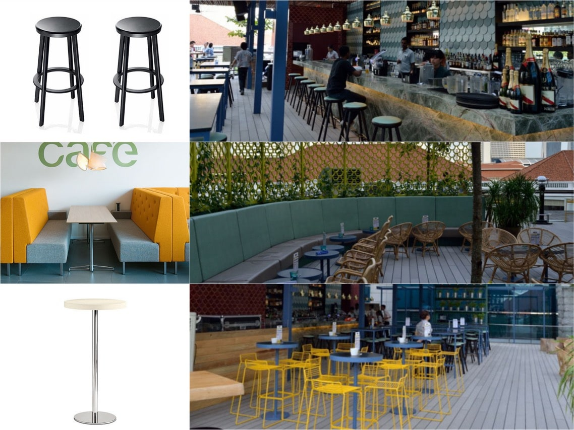 Loof rooftop bar inspiration interiors spaceist blogpost