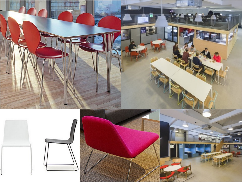 Ministy of Sound office canteen Spaceist blogpost