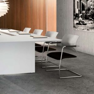 Multi-purpose meeting tables and chairs