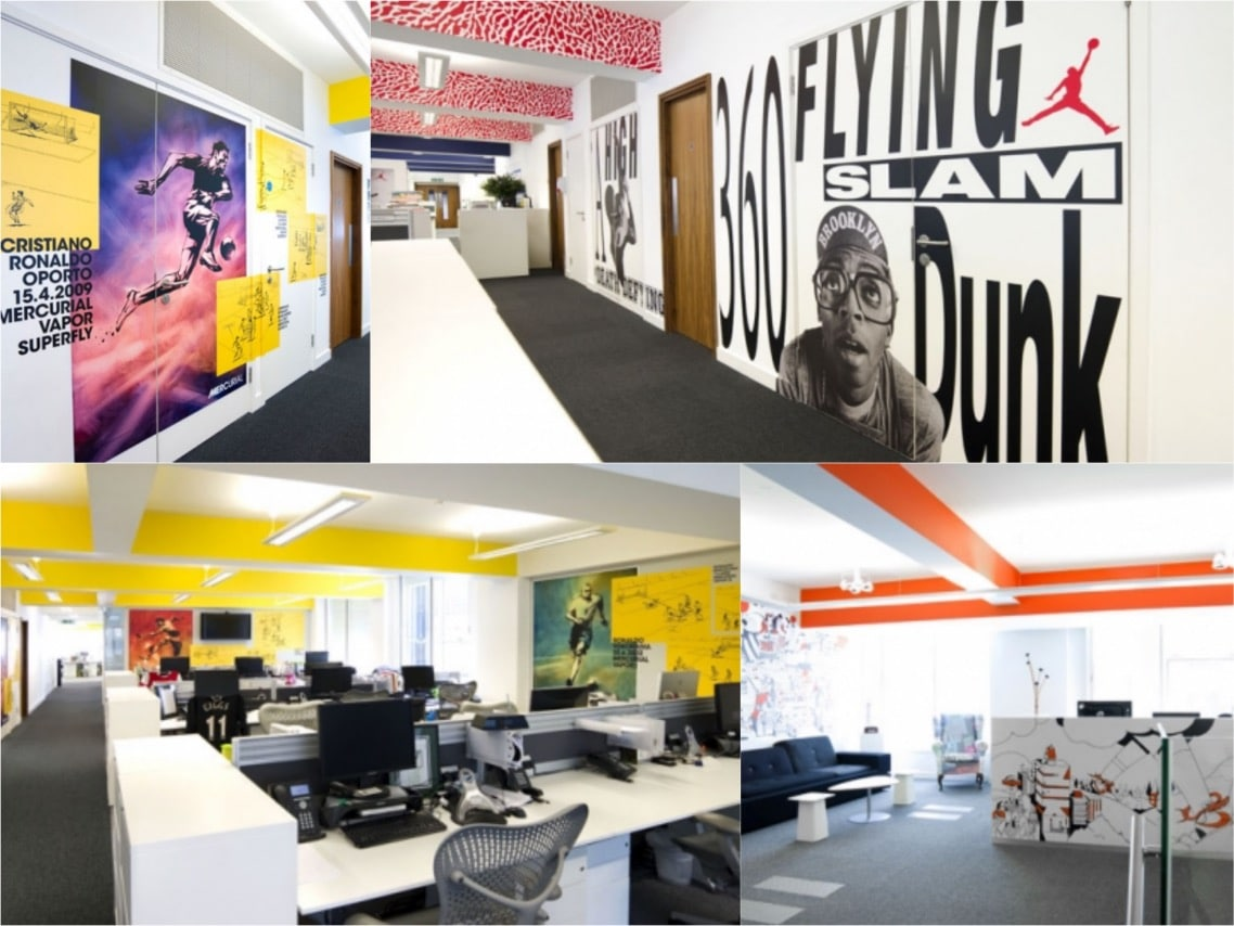 Nike london office design spaceist blogpost
