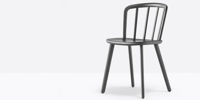 Black Ash Cafe Chair