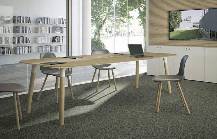 Oak Executive Meeting Table